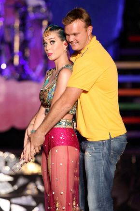 Scanpix nuotr./Katy Perry ir Dougas Bollingeris