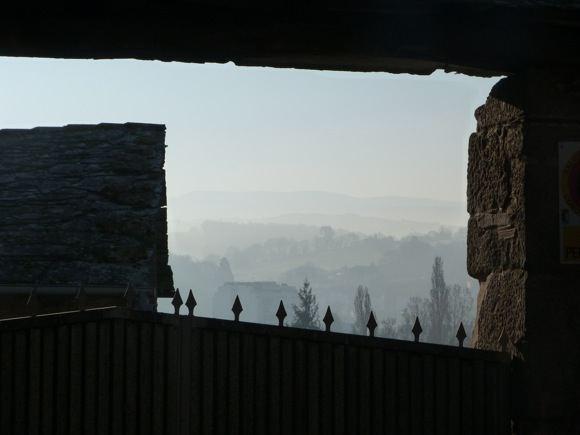 E.Garnelytės nuotr./Rytinis rūkas  itin tipiaka Galicijos gamtos dalis.