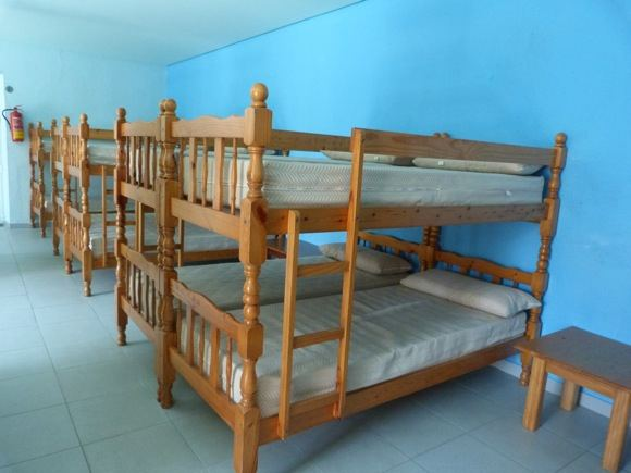E.Garnelytės nuotr./Hostelio kambarys