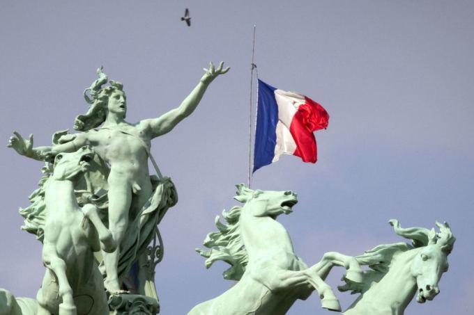 AFP/Scanpix nuotr./Prancūzijos vėliava