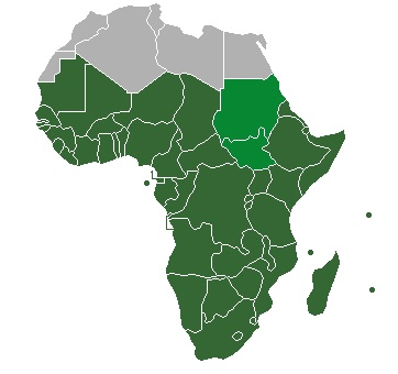wikipedia.org nuotr./Sub-Saharan_Africa_definition_UN
