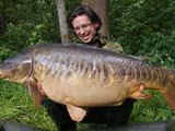 Neeilinis laimikis – 22 kg Donato karpis.