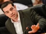 """AFP/""""Scanpix"""" nuotr./Graikijos radikalios kairiųjų partijos """"Syriza"""" lyderis Alexis Tsipras"""