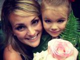 Twitter nuotr./Jamie Lynn Spears su dukrele Maddie