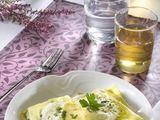 Fotolia nuotr./Lazanija su rikotos sūriu