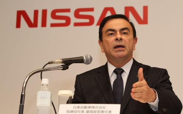 Nissan vadovas Carlos'as Ghosn'as