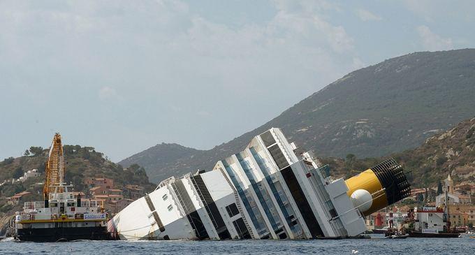 AFP/Scanpix nuotr./Costa Concordia kruizinis laivas