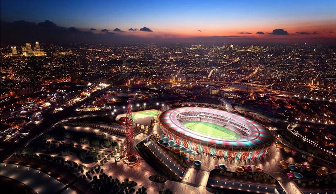 Organizatorių nuotr./Londono olimpinis stadionas