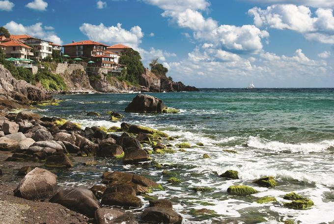Novaturo nuotr./Juodosios jūros pakrantė Bulgarijoje