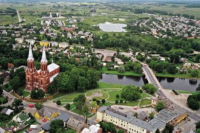 Iš Anykščių bažnyčios atsiveriantys nuostabūs vaizdai bus prieinami visiems miestiečiams ir svečiams.