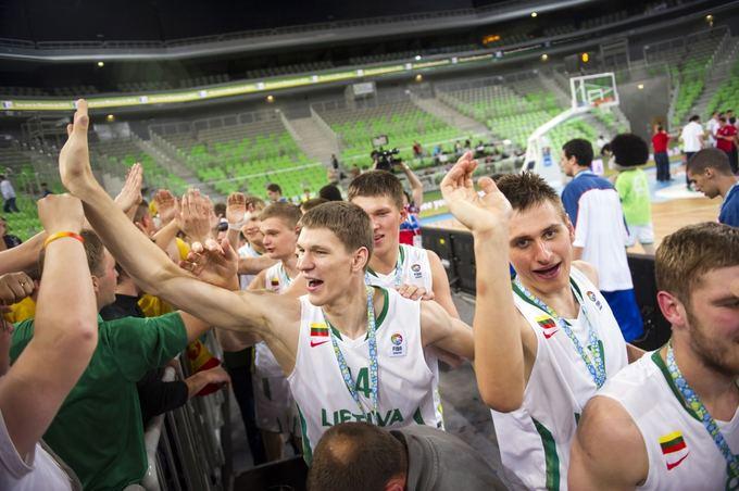 AFP/Scanpix nuotr./Золотое поколение литовских баскетболистов войдет в историю