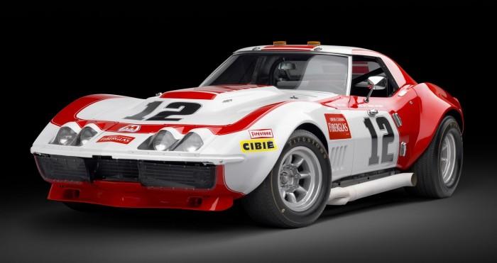 1968-ųjų lenktynėms skirta Chevrolet Corvette