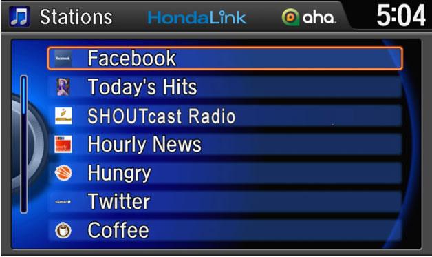 HondaLink pramogų sistema