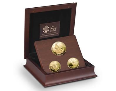 The Royal Mint nuotr. /Olimpinių Londono žaidynių monetų rinkinys