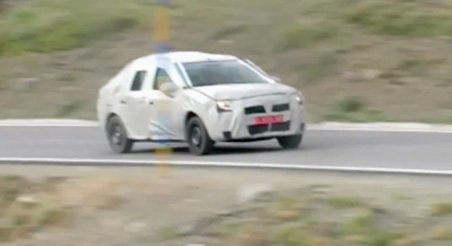 Užmaskuotas naujasis Dacia Logan