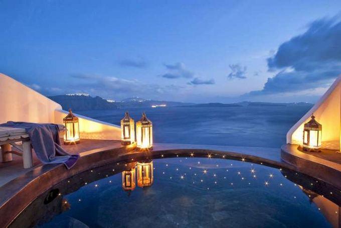 Andronis-suites.com nuotr./Vieabučio kambariai Graikijoje taip pat tarp romantiakiausių
