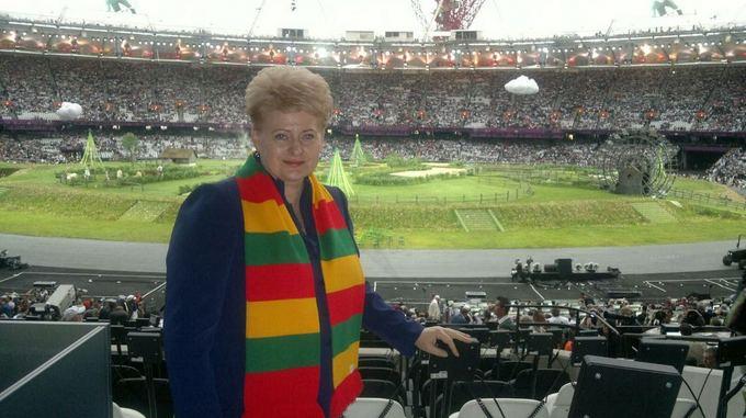Prezidentūros nuotr./Dalia Grybauskaitė olimpinių žaidynių atidaryme