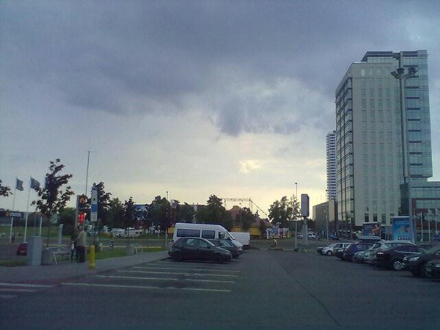 Audra artėja prie Klaipėdos