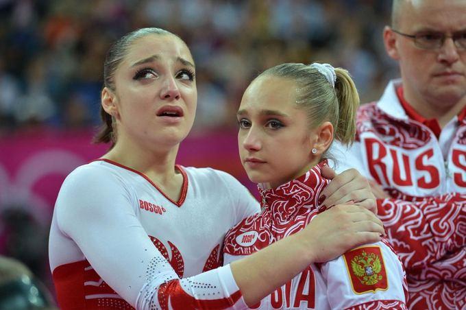 AFP/Scanpix nuotr./Rusijos gimnasčių nusvylimas