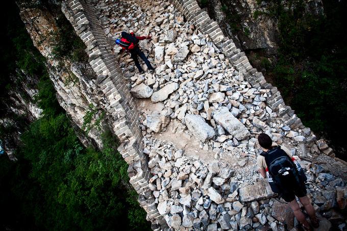 Bertos Tilmantaitės nuotr./Žygis Didžiosios Kinų sienos Jiankou dalimi iki Zhengbei gynybinio bokato