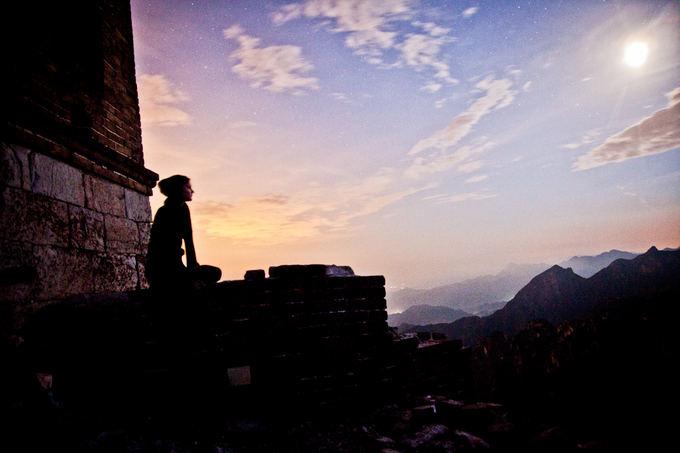 Bertos Tilmantaitės nuotr./Didžiosios Kinų sienos Jiankou dalis ir Zhengbei gynybinis bokatas.