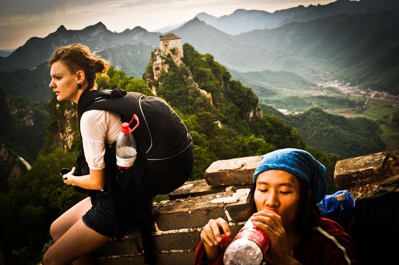 Žygis Didžiosios Kinų sienos Jiankou dalimi iki Zhengbei gynybinio bokšto
