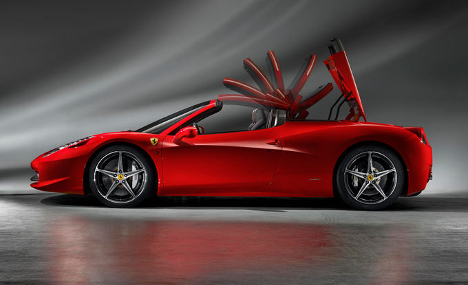 Gamintojo nuotr./Ferrari 458 Spider