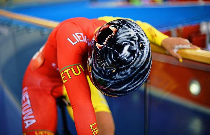 AFP/Scanpix nuotr./Simona Krupeckaitė ketvirtfinalyje