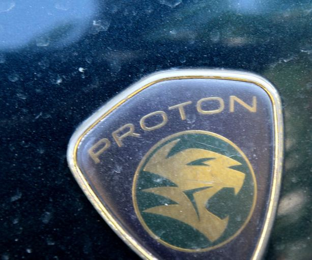 Evelinos ir Karolio nuotr./Proton - viena ia kelių maainas gaminančių Malaizijos kompanijų.
