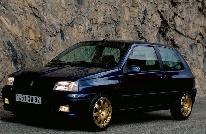 Gamintojo nuotr./Renault Clio Williams, 1993 m.