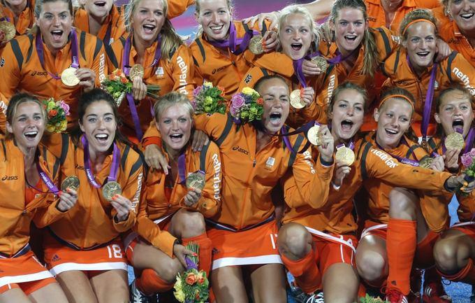 Reuters/Scanpix nuotr./Nyderlandų žolės riedulininkės