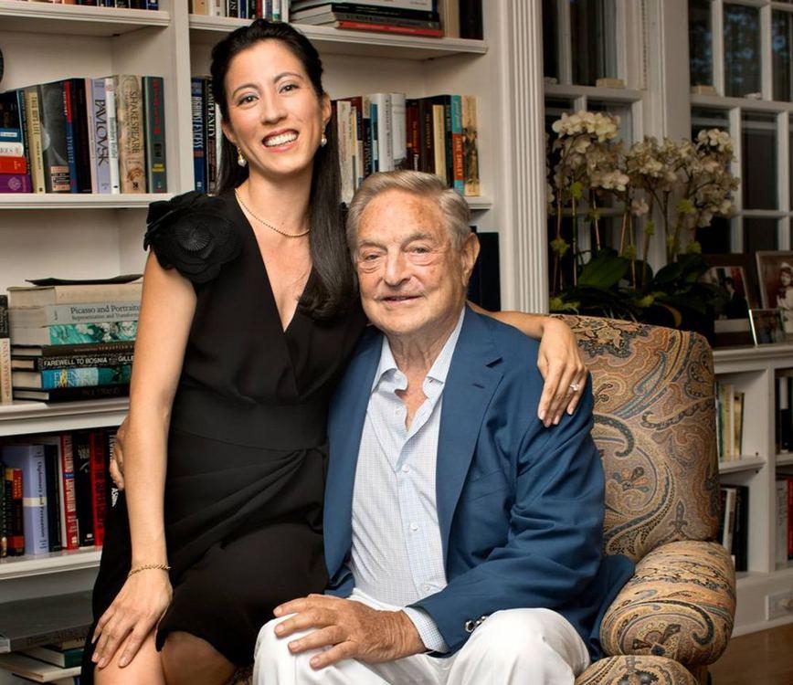Milijardierius George'as Sorosas veda trečią kartą | Vardai | 15min.lt
