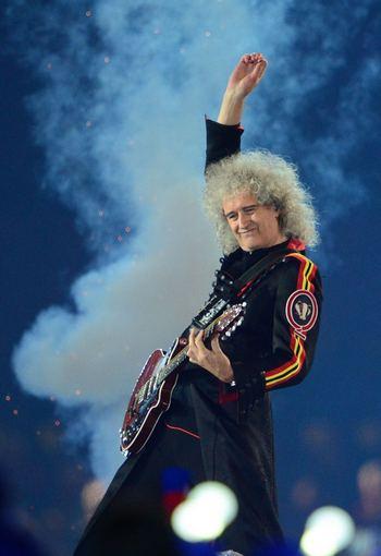 AFP/Scanpix nuotr./Queen gitaristas Brianas May