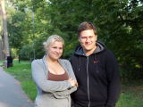 Viganto Ovadnevo nuotr./Merūnas ir Erika Vitulskiai