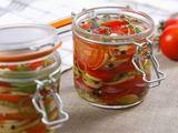 Shutterstock nuotr./Pomidorai drebučiuose