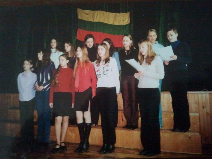 Asmeninio albumo/Žmonės.lt nuotr./Kristina Ivanova mokyklos laikais