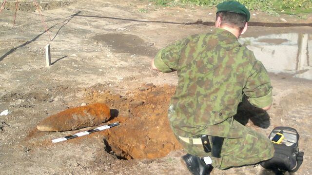 Aptiktas sprogmuo Klaipėdos transformatorių pastotėje.