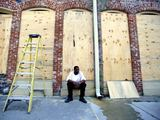 """AFP/""""Scanpix"""" nuotr./Naujasis Orleanas ruošiasi atremti atogrąžų audros """"Izaokas"""" smūgį"""