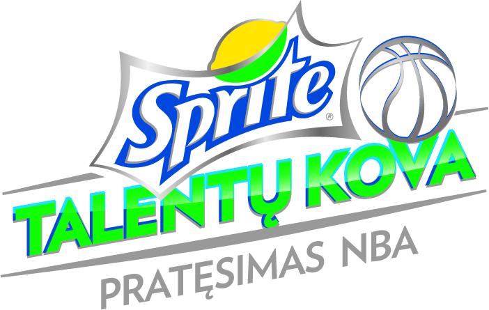 """""""Sprite talentų kovos"""" logotipas"""