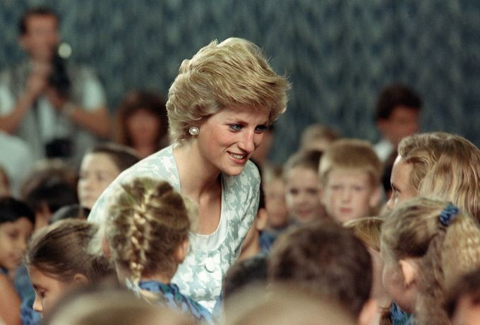 """Scanpix"" nuotr./Princesė Diana Indonezijoje (1989 m.)"