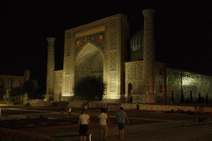 Keliautojų nuotr./Mongol Rally dienoraatis. Samarkandas
