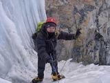 Edita Nichols in the Himalays