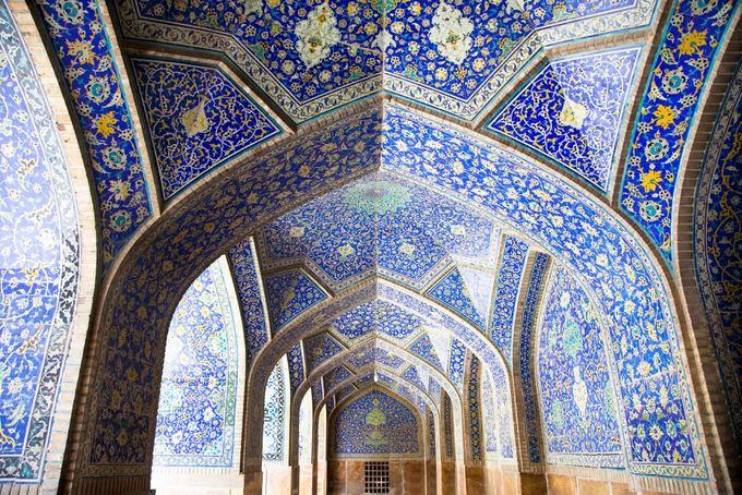Fotolia nuotr./Isfahane esanti mečetė