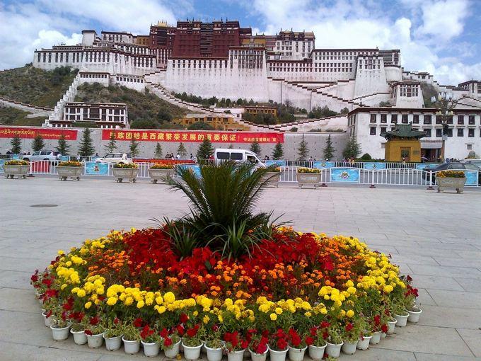 Ekspedicijos dalyvių nuotr./Ekspeicijos pradžia Tibeto sostinėje Lasoje