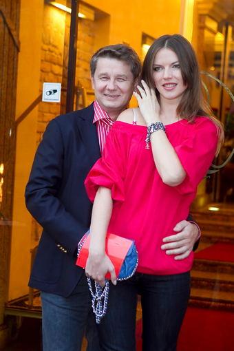 Viganto Ovadnevo nuotr./Alesia Litvinionok su vyru Artūru