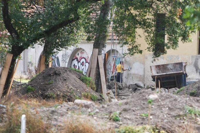 Juliaus Kalinsko/15 minučių nuotr./Bernardinų sodo rekonstrukcija