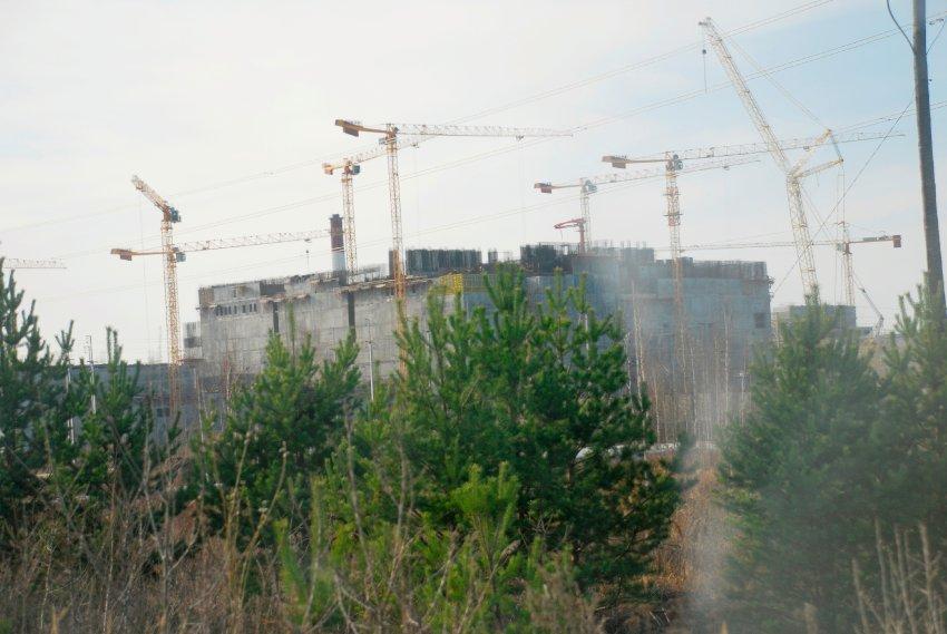 Greitojo reaktoriaus statyba Urale