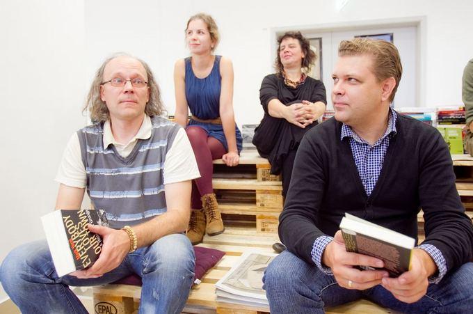 Irmanto Gelūno/15min.lt nuotr./Vilniaus knygų festivalio pristatymas