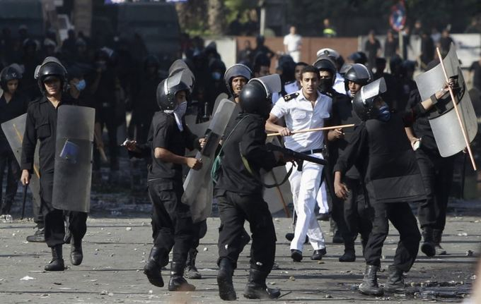 Scanpix nuotr./Egipto protestuotojai