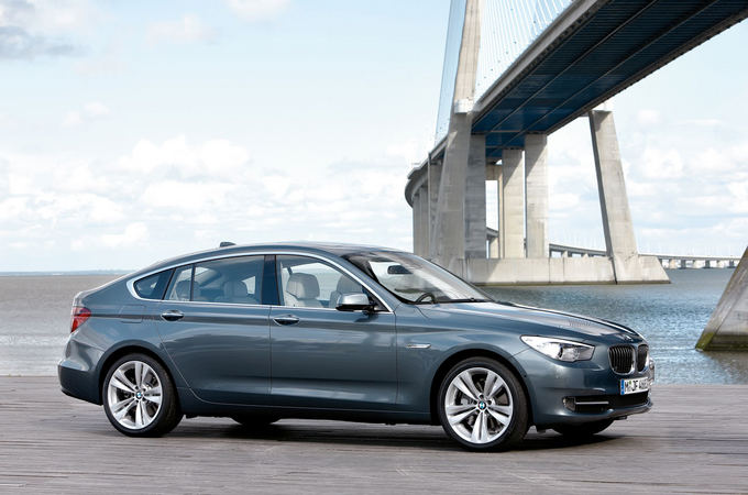Gamintojo nuotr./BMW 5GT